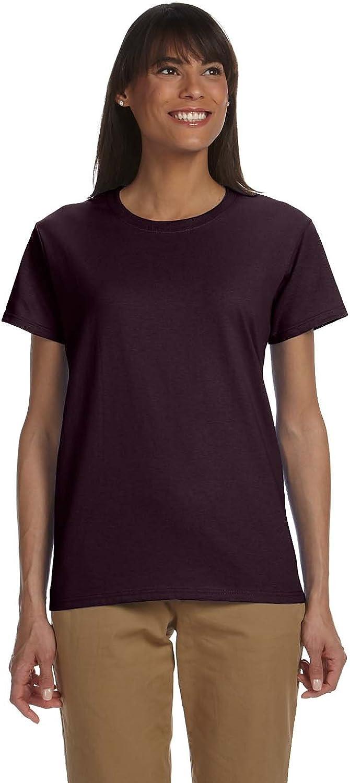 Gildan Womens 6.1 oz. Ultra Cotton TShirt (G200L) DARK CHOCO 2XL12PK