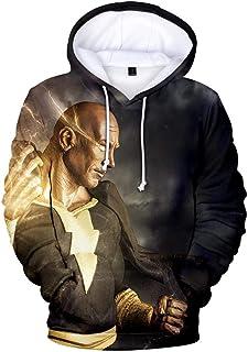 Rbop Felpa Tops Animazione con Cappuccio Uomo Unisex Cosplay 3D Stampato Pullover Sweatshirt Sportive Cyberpunk Zipper