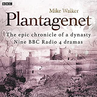 Plantagenet audiobook cover art