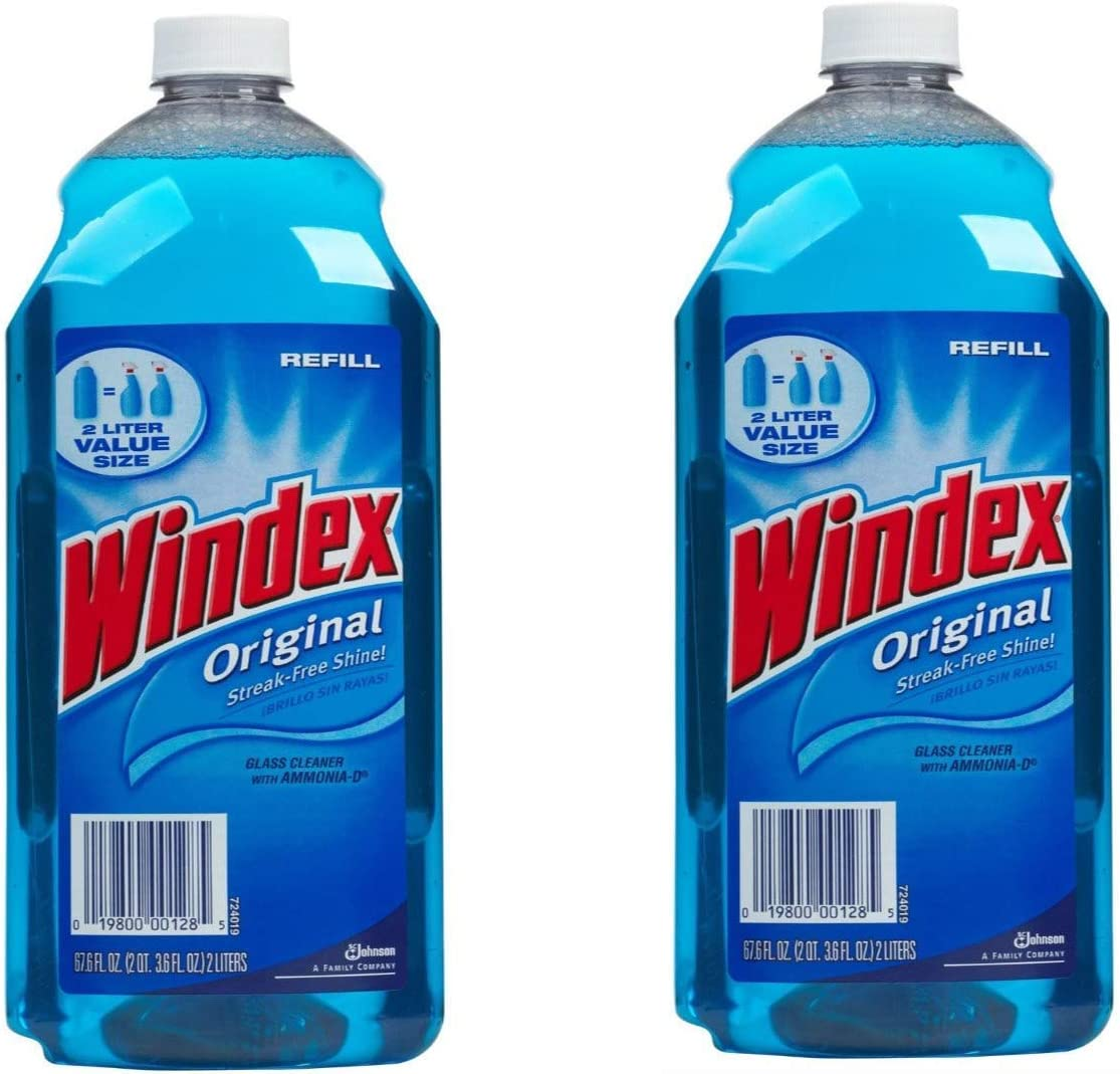 Windex Window Cleaner Refill 67.6 Pack Max 59% OFF 2 Value of Weekly update oz