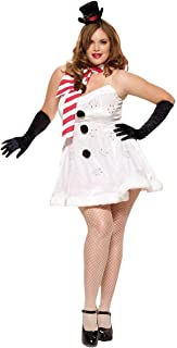 Miss Winter Wonderland Adult Costume - Plus Size 1X/2X