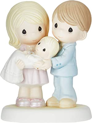 Precious Moments, Grow In The Light Of His Love, Bisque Porcelain Figurine, 830014