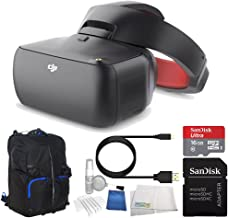 DJI Goggles FPV Headset (Racing Edition) Bundle with Soft Padded Backpack photo