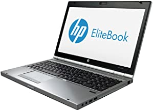 HP EliteBook 8570P Notebook PC - Intel Core i5-3210M 8GB 500GB DVDRW Windows 10 Professional (Renewed)