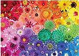 LFZY Rompecabezas 5000 Piezas de Coloridas Flores florecientes niños Adultos Rompecabezas de Madera Ocio Juego Creativo Rompecabezas de Juguete