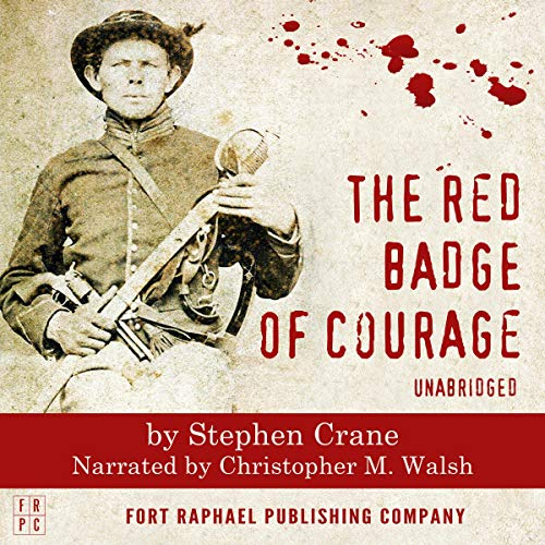 The Red Badge of Courage (Unabridged) audiobook cover art