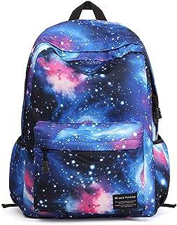 Minetom Universo Estrellas Nebulosa Nylon Backpack Mochilas Escolares Mochila Escolar Casual Bolsa Viaje Moda