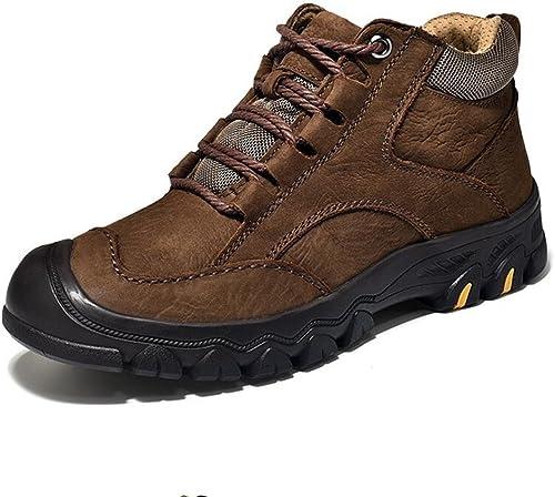 Sun Les Chaussures De Coton Occasionnelles Chaudes d'hommes d'hommes des Hommes Les Chaussures De Course d'hiver De La Corée du Sud (Couleur   2, Taille   EU39 UK6 CN39)  acheter pas cher neuf