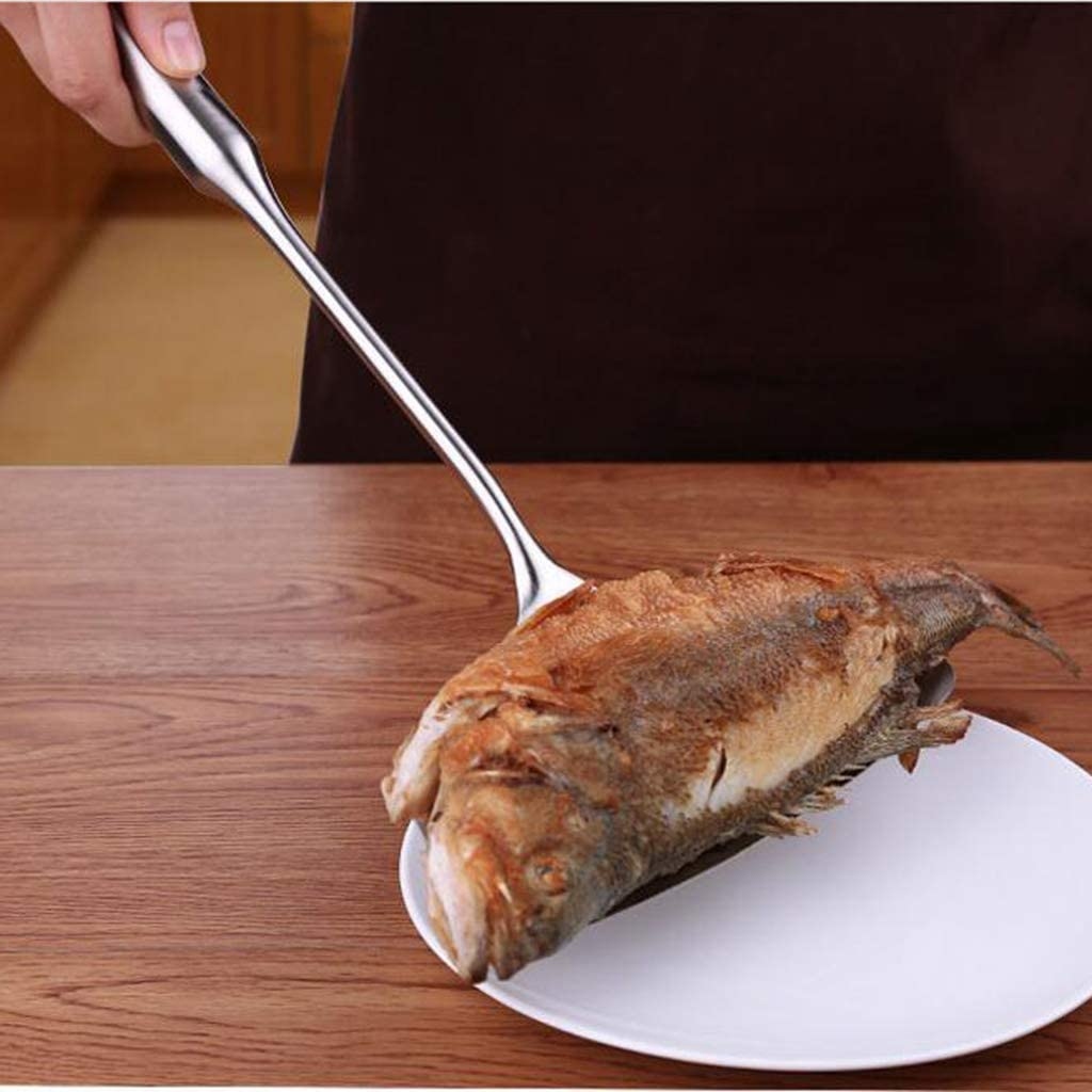 typ 1 joyMerit Fleischwender Grill Pfannenschaufel Edelstahl Pizzaheber Fischheber