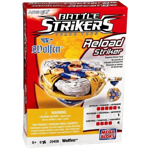 Mega Bloks 29456 Battle Strikers Reload Striker Wolfen