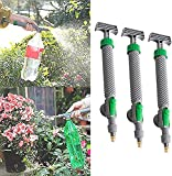 SIDUISDH High Pressure Air Pump Manual Sprayer Adjustable Drink Bottle Spray Head Nozzle,Garden Watering Tool (3pcs)