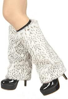 snow leopard leg warmers