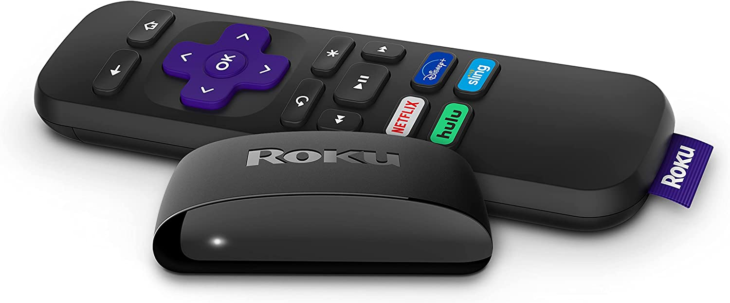 Roku Express | HD Streaming Media Player with High Speed HDMI Cable and Simple Remote