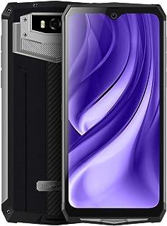 QUZH Cell Phones Smartphone BV9100 Rugged Phone, 4GB+64GB, IP68/IP69K/MIL-STD-810G Waterproof Dustproof Shockproof, Dual Back Cameras, 13000mAh Battery, Face ID & Fingerprint Identification, 6.3 inch