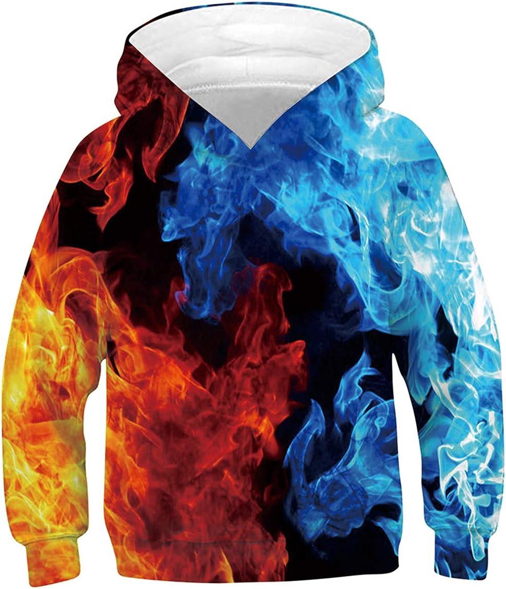 UNICOMIDEA Kids Discount is also underway Hoodies Pullover 3D Tops Sweatshirt for Max 73% OFF Jumpers