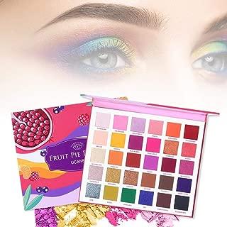 Miju Professional Makeup Paleta de Sombra de Ojos,Shadow Palette Paleta Maquillaje Altamente Pigmentados Brillantes y Mate Palette Paleta de Maquillaje Cosmética con Color Cálido y Frío Remarkable