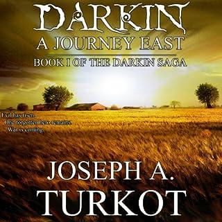 Darkin: A Journey East audiobook cover art