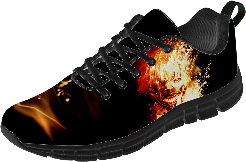 Uminder Tokyo Ghoul Shoes for 爆売りセール開催中 Men Comfortable Lig Women 3D Print スーパーセール