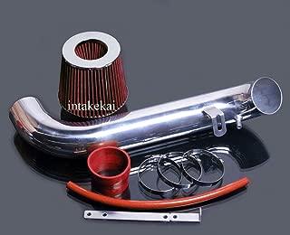 PERFORMANCE AIR INTAKE KIT FIT 1995-1999 MITSUBISHI ECLIPSE 2.0L L4 NON-TURBO ENGINE (RED)