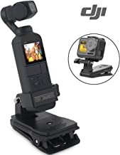 Osmo Pocket Backpack Mount Clip - Gopro Mount Quick Clip for DJI Gimbal Stabilizer Camera Mounts Backpack Clamp Bracket Stand Osmo Pocket Accessories with Stronger Backpack Clip