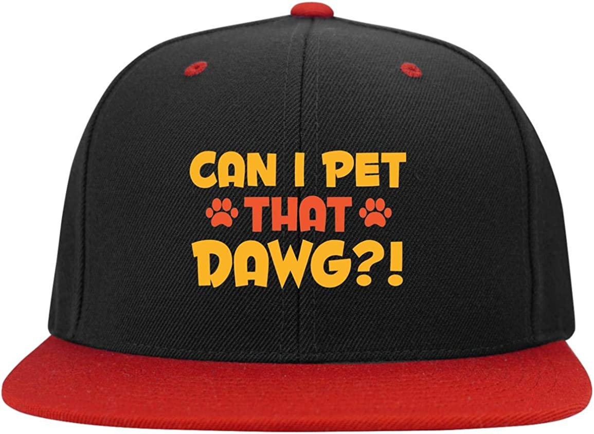 Can Colorado Springs Mall I Pet That Dawg - Snapbac Lover Dog High-Profile Twill quality assurance Cap