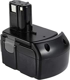 VANON 4.0Ah EBM1830 Battery for Hitachi, 18V Li-ion Replacement Battery for Hitachi BCL1815 BCL1820 BCL1825 BCL1830 EB 1820L C 18DL C 18DLX C 18DMR DS18DFLG DS18DL 327730 327731 Cordless Tools