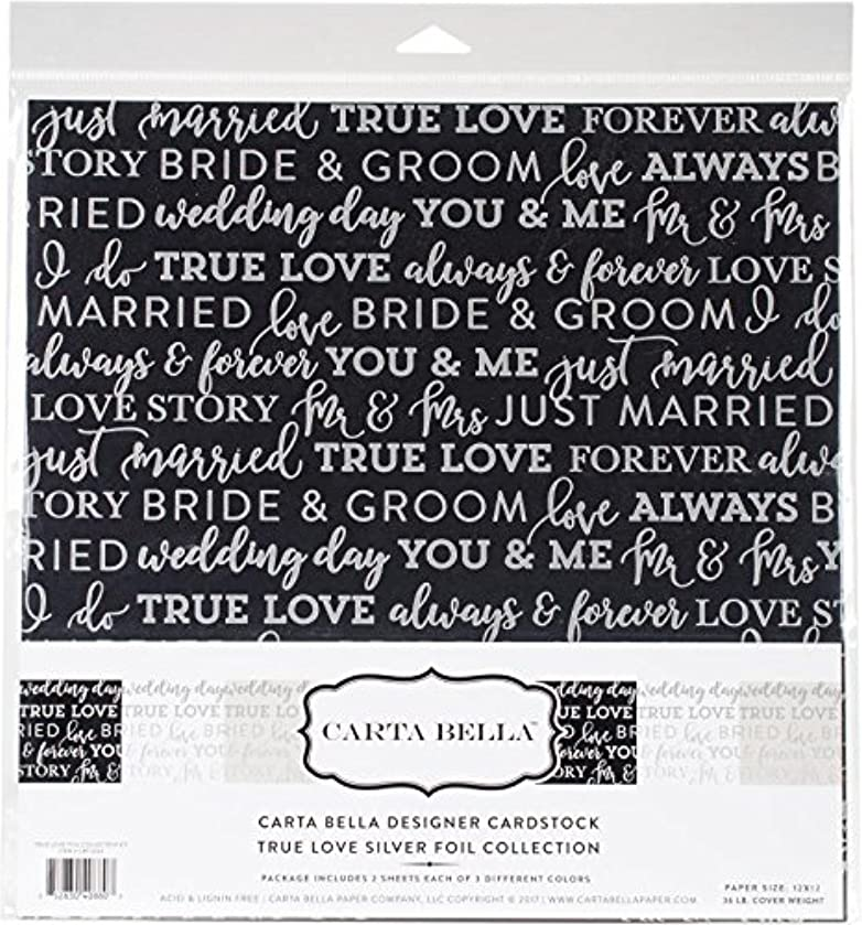 Carta Bella Paper Company True Love Foil Collection Kit