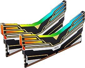 OLOy DDR4 RAM 16GB (2x8GB) Warhawk Aura Sync RGB 3200 MHz CL16 1.35V 288-Pin Desktop Gaming UDIMM (MD4U0832160BE0DA)