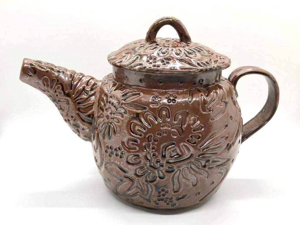 Handmade Ceramic Teapot Limited High quality new time cheap sale - Pottery Teapo Large Stoneware