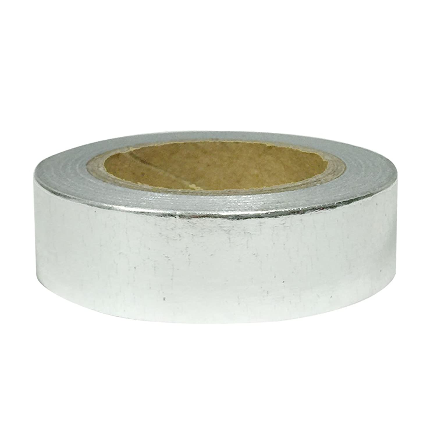 Allydrew Washi Tapes Decorative Masking Tapes, Shiny Silver