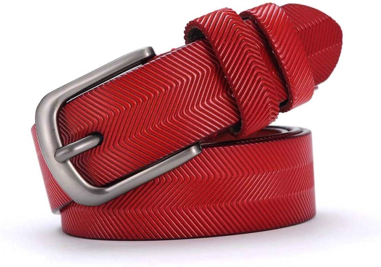 TMSHEN Women's Leather Belt Leather Women's Strap Belt Female