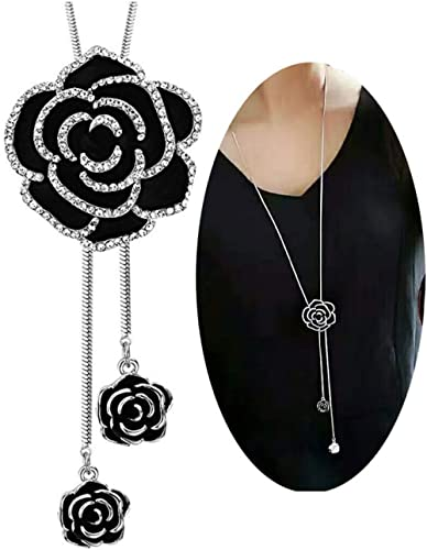 Shining Diva Fashion Jewellery Pendent for Girls with Long Chain Pendant Party Wear Stylish Necklace For Women & Girl...