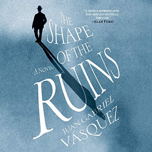 The Shape of the Ruins audiobook cover art