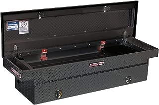 Weather Guard Aluminum Saddle Box, Black, Single, 15.3 cu. ft. - 117-5-02 Pack of 1