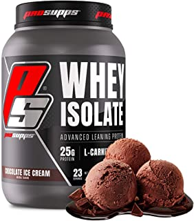ProSupps® Whey Isolate, Advanced Leaning Protein Powder, Chocolate Ice Cream 24 Servings