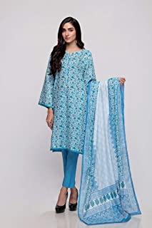 3-Piece Unstitched Lawn Suit CL-713B by Gul Ahmed
