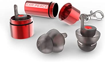 EarPeace Motorcycle Ear Plugs – Noise Reduction and High Fidelity Hearing Protection..