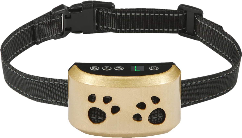 Bark Collars Dog Barking Control Training Collar (Blue) : Pet Supplies