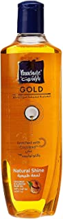 Parachute Gold Soft & Natural Shine Coconut & Almond Hair Oil, 100% natural cocolipid nourishment, 300 ml