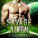 Savage Alien audiobook cover art
