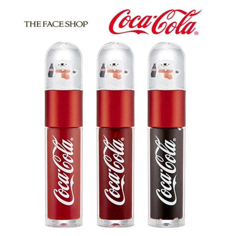 影響を受けやすいです好き百年ザ?フェイスショップ THE FACE SHOP コークベア リップティント 5.5g 限定版 3色セット Coke Bear Lip Tint 5.5g Limited Edition