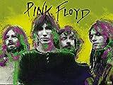 777 Tri-Seven Entertainment Pink Floyd Poster Music Wall Art Print (24x18)