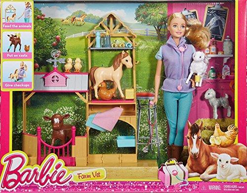 Coffret de Jeu Barbie Vétérinaire de Ferme - 5