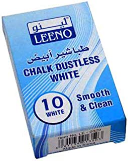Leeno Chalk Dustless White
