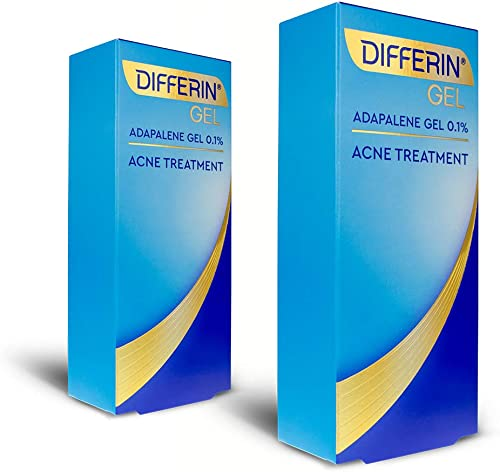 Acne Treatment Differin Gel, 60 Day Supply, Retinoid Treatment for Face with 0.1% Adapalene, Gentle Skin Care for Acn...