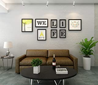 Shirley Photo Frame Set Creative Combination Photo Wall Hanging Frame Combination Personality Sofa Background Wall Hanging Decoration Picture Frame Bar Internet Cafe Wall Decoration
