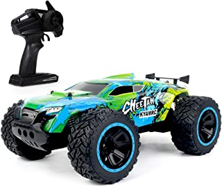 KY-2011A 1/14 Big Foot RC Crawler RC Off-road Car 2.4G 2WD RC Truck High Speed Lightweight RC Car Toys for Kids Adults RTR...