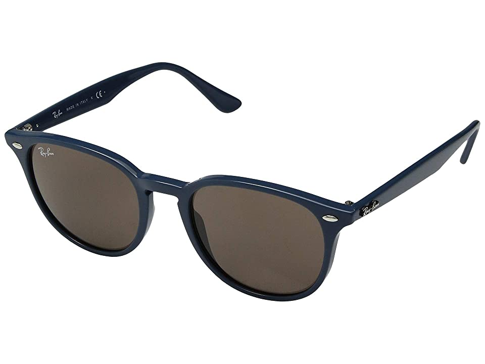 Ray-Ban 0RB4259 51mm (Blue/Dark Brown) Fashion Sunglasses