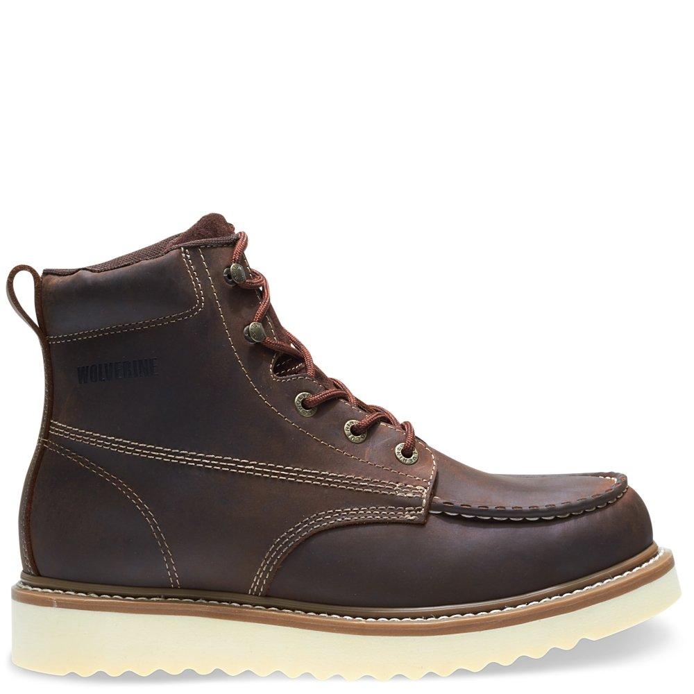 Soft Toe Wedge Work Boot