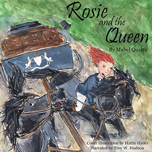 Rosie and the Queen audiobook cover art